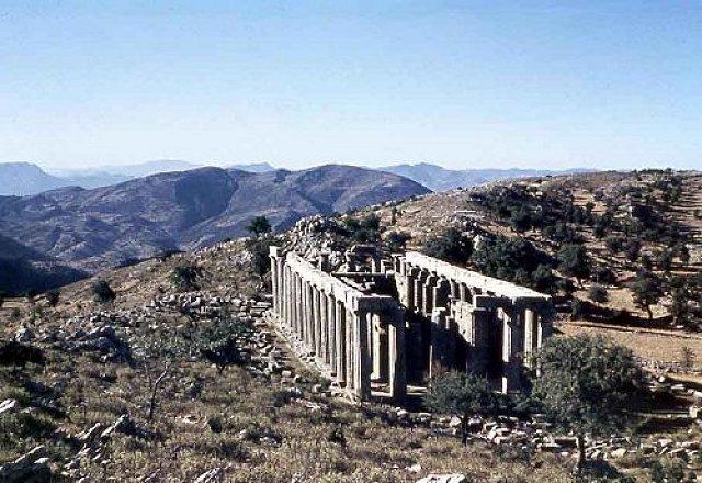 Apolló Epicurius templom