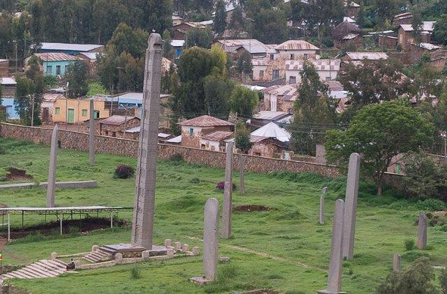 Axum Sztélék